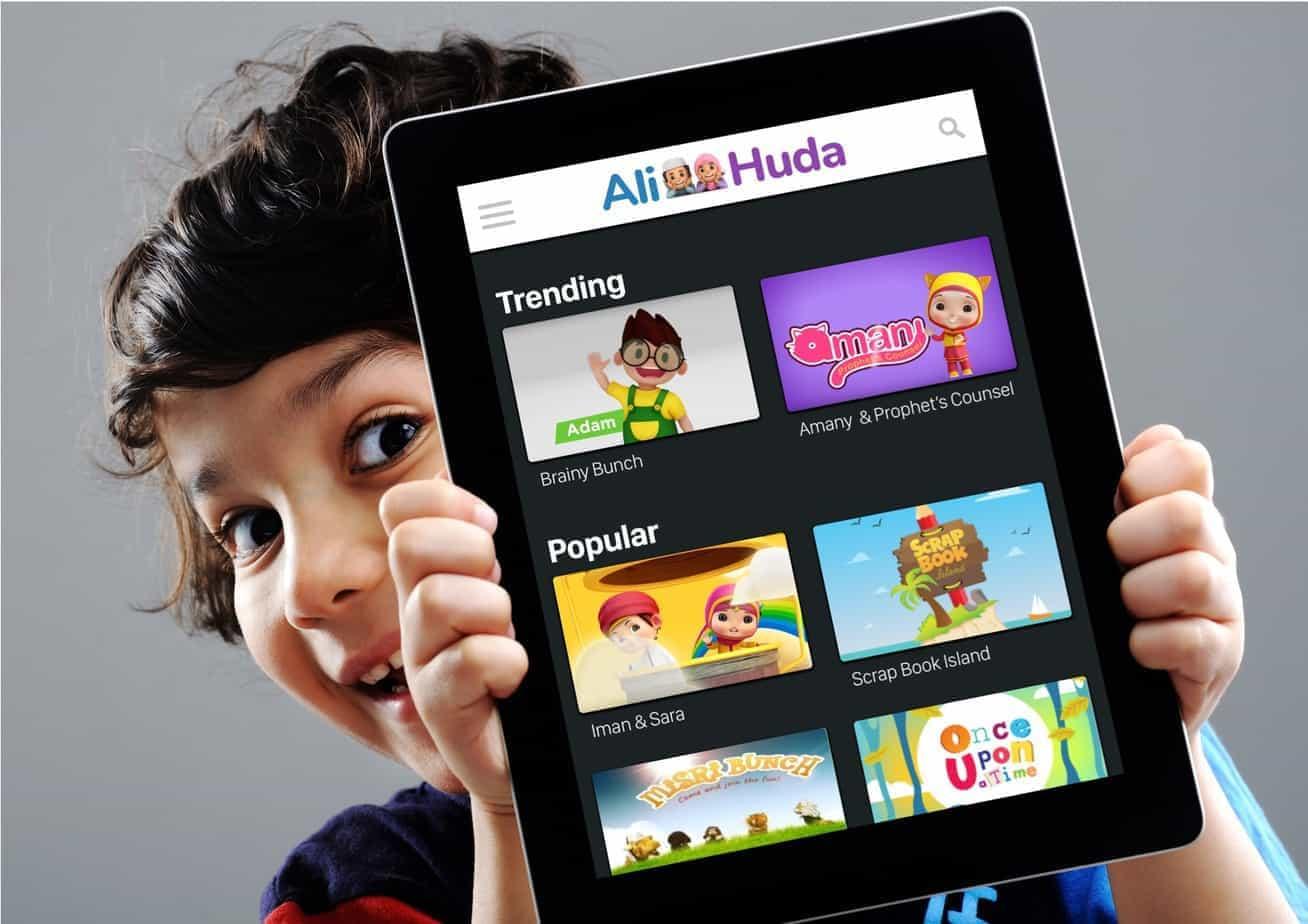Ali Huda The Netflix for Muslim Kids